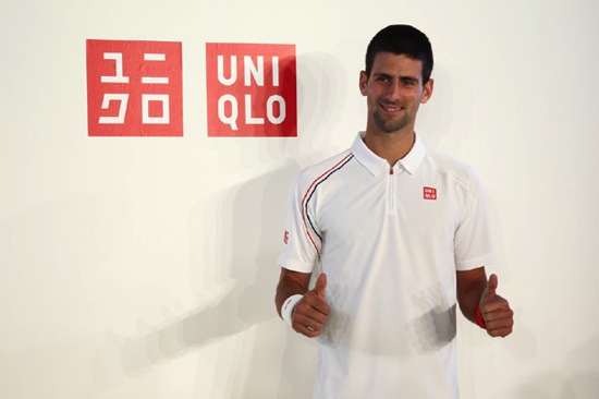 Djokovic uniqlo